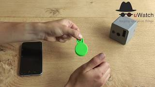 Video 11 <br/>uWatch Cube: How to Test Bluetooth Tag Range