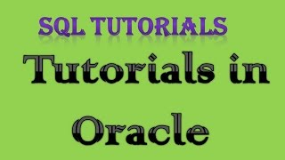 SQL Tutorial In Oracle   4 NULL, LIKE, DISTINCT, ORDER BY