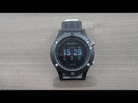 NO.1 F5 el reloj inteligente con autonomía de batería de 3 semanas