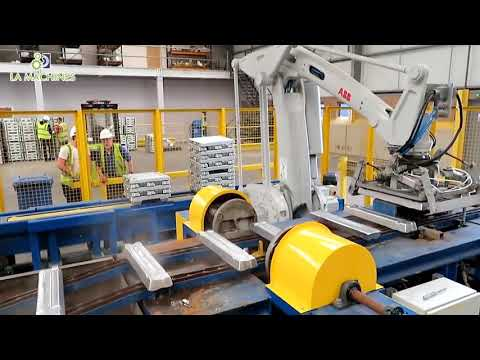 Modern Technology Aluminum Recycling Process, Automatic Melting Metal Manufacturing Factory