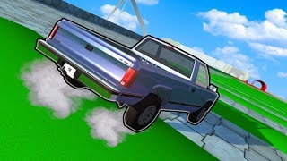 THE INSANE TEST CAR CRASH COURSE! (BeamNG Drive Gameplay) Realistic Car Crash Physics!