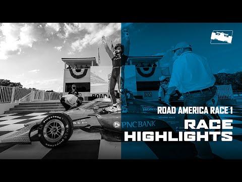 インディカー 第3戦 ロード・アメリカ レース1ハイライト動画
