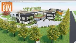 ArCADia BIM 12 - prezentacja nowych możliwości programu w widoku 3D