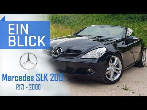 Mercedes SLK 200 R171 2006 - Reichen 163PS zum Roadsterglück? Vorstellung, Test & Kaufberatung