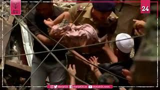 مخاوف من محاصرة 30 وسط أنقاض مبنى في مومباي