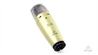 C-3 Dual-Diaphragm Studio Condenser Microphone