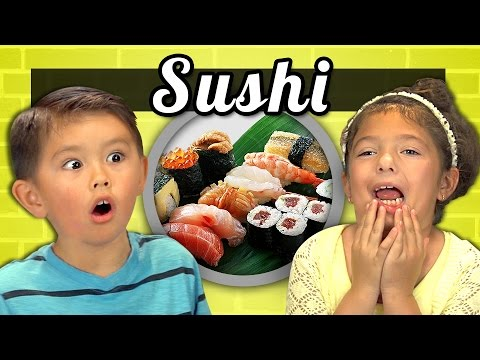 KIDS vs. FOOD #15  – SUSHI