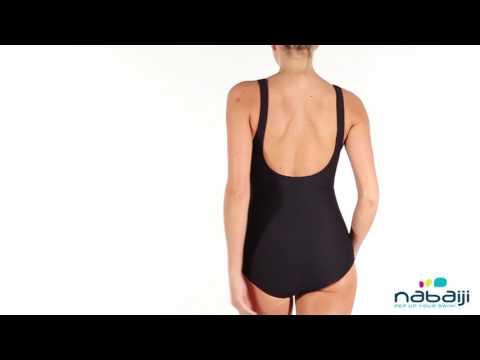 a4dd658e6 Maiô modelador de natação adulto Kaipearl Nabaiji - Exclusividade Decathlon