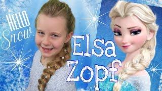 """ELSA'S ZOPF❄französischer""""Messy""""Zopf aus die Eiskönigin❄coole Mädchen Zöpfe&Frisuren"""