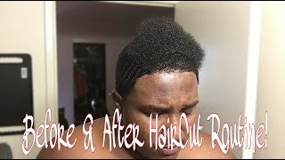 360 Waves Haircut Routine: What to do Before and After a HAIRCUT!