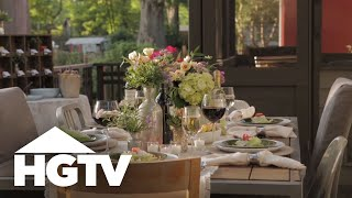 10 Outdoor Dinner Party Tips - HGTV