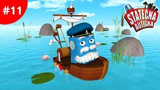 Statečná autíčka - Rybář Fred v nebezpečných vodách