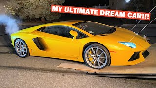 I BOUGHT MYSELF A LAMBORGHINI AVENTADOR FOR CHRISTMAS!!! *NOT a Giveaway!*