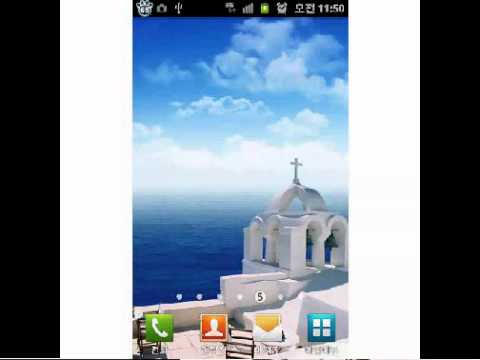 Video of [TOSS]Santorini Live Wallpaper