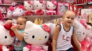 ВЛОГ Идем в Дубай Молл Алина и Алиса покупают куклы LOL Шикарный Парк Цветов VLOG