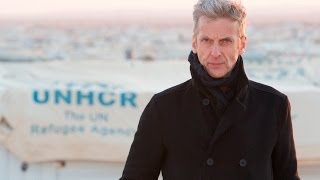 Питер Капальди, Peter Capaldi a.k.a. Dr Who meets Syrian refugees in Jordan with UNHCR