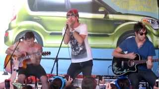 All Time Low- The Reckless and the Brave acoustic live (Denver Warped Tour 6-17-12)