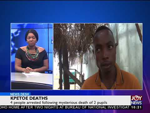 Kpetoe Deaths - News Desk on Joy News (30-3-18)