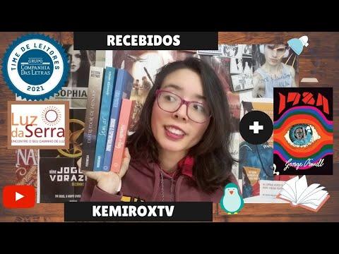 Bookhaul Recebidos de Editoras + 1984 gratuito da Amazon | Kemiroxtv