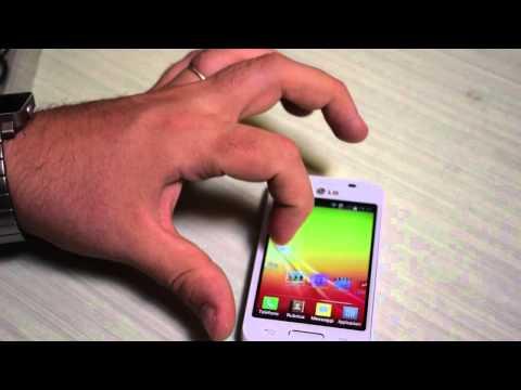 LG L40, video unboxing e primo avvio