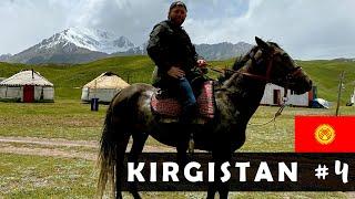 KIRGISTAN 🇰🇬 Wyprawa na koniach w góry do Kirgijskich NOMADÓW. Lenin Peak 7134 m.n.p.m #4