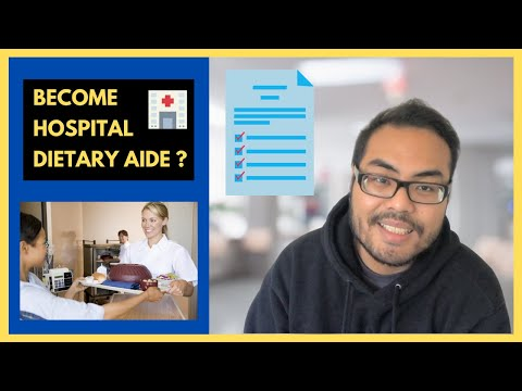 How to become a Hospital Dietary Aide   Job Duties and Job ...