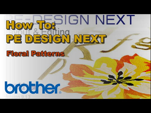 Brother Pe Design Next Digitizing Software