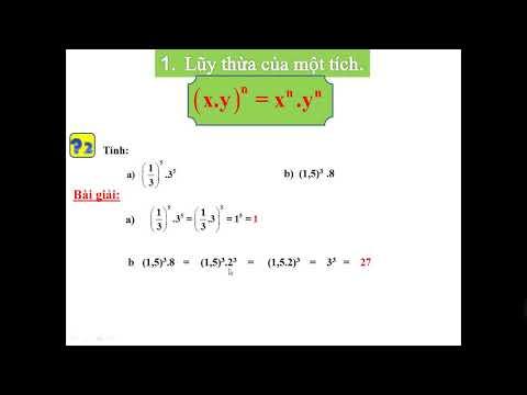 Bài 6. Lũy thừa của một số hữu tỉ (tiếp).