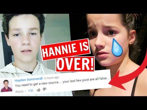 Annie leblanc confirms dating hayden summerall
