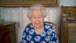 video: Queen hails 'wonderful work' of volunteers who have helped out in Covid crisis