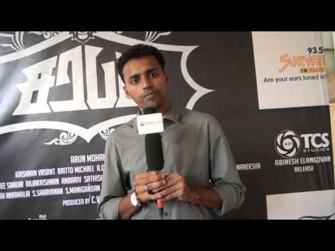 director arun mohan at sarabham movie team interview