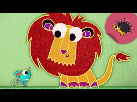 Der Löwe kann nicht brüllen...   Trickfilm   Schmusedecke   Ich kenne ein Tier   SWR Kindernetz
