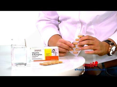 Was ist Vitamin B-Komplex-ratiopharm und wie wird es korrekt angewendet?