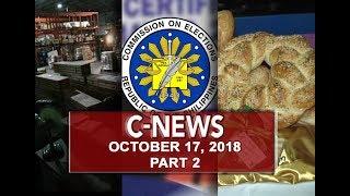 UNTV: C-News (October 17, 2018) PART 2
