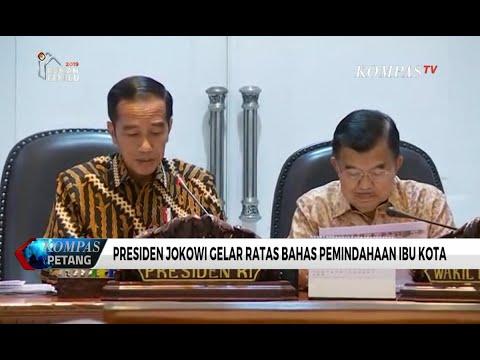 Presiden Joko Widodo Putuskan Ibu Kota Pindah ke Luar Pulau Jawa