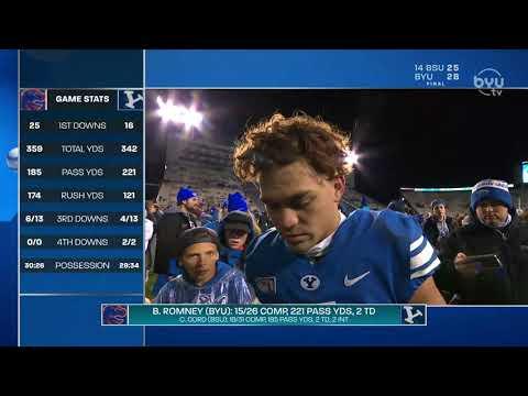 Lopini Katoa Post Game Interview vs Boise State 10.19.19