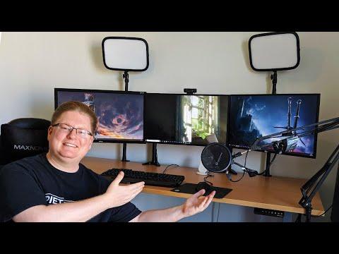 Mein Schreibtisch-Setup & Kabel-Management