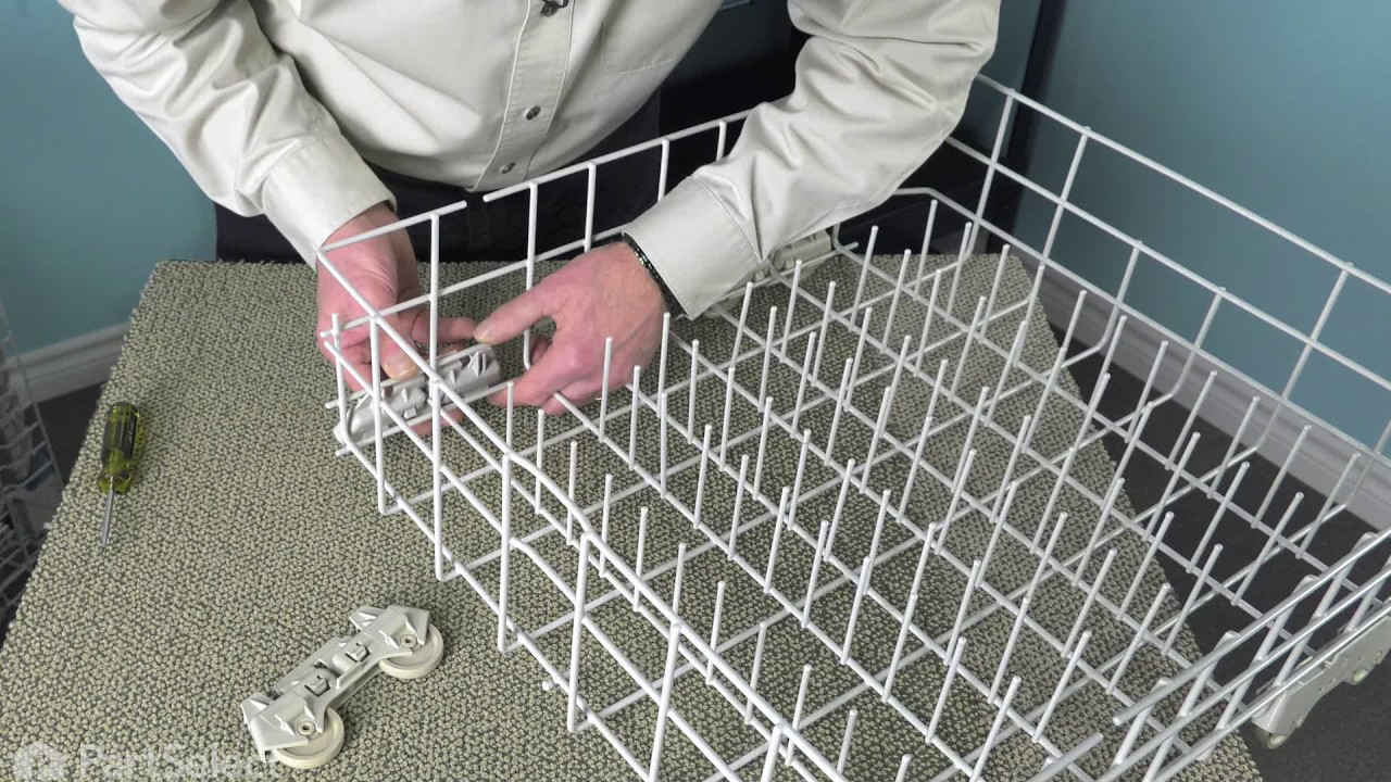 Replacing your Whirlpool Dishwasher Wheel Assembly