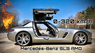 Mercedes-Benz SLS AMG | Kurzer Fahreindruck | Inkl. 0-320 Km/h Autobahn-POV | 🔥🔥🔥