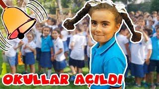 Mira Okulun İlk Günü Çok Heyecanlı | Okula Dönüş Back To School