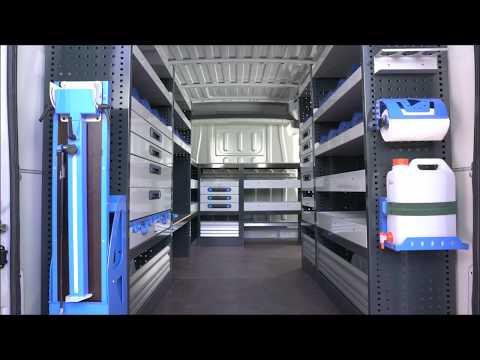 Installazione scaffalature per furgoni - DenWorker