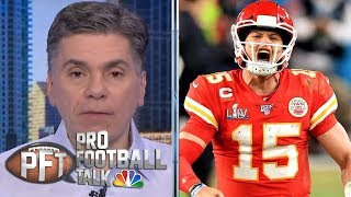 Patrick Mahomes comes up clutch as Jimmy Garoppolo can't deliver | Pro Football Talk | NBC Sports