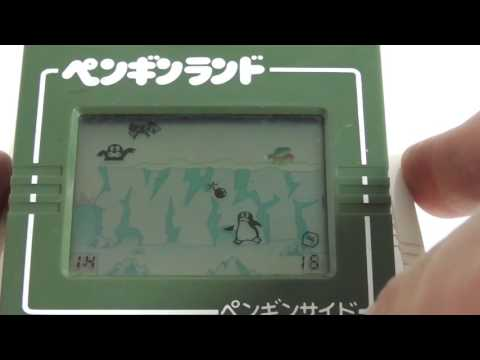 17306 Bandai LCD Game Double Play Penguin Land