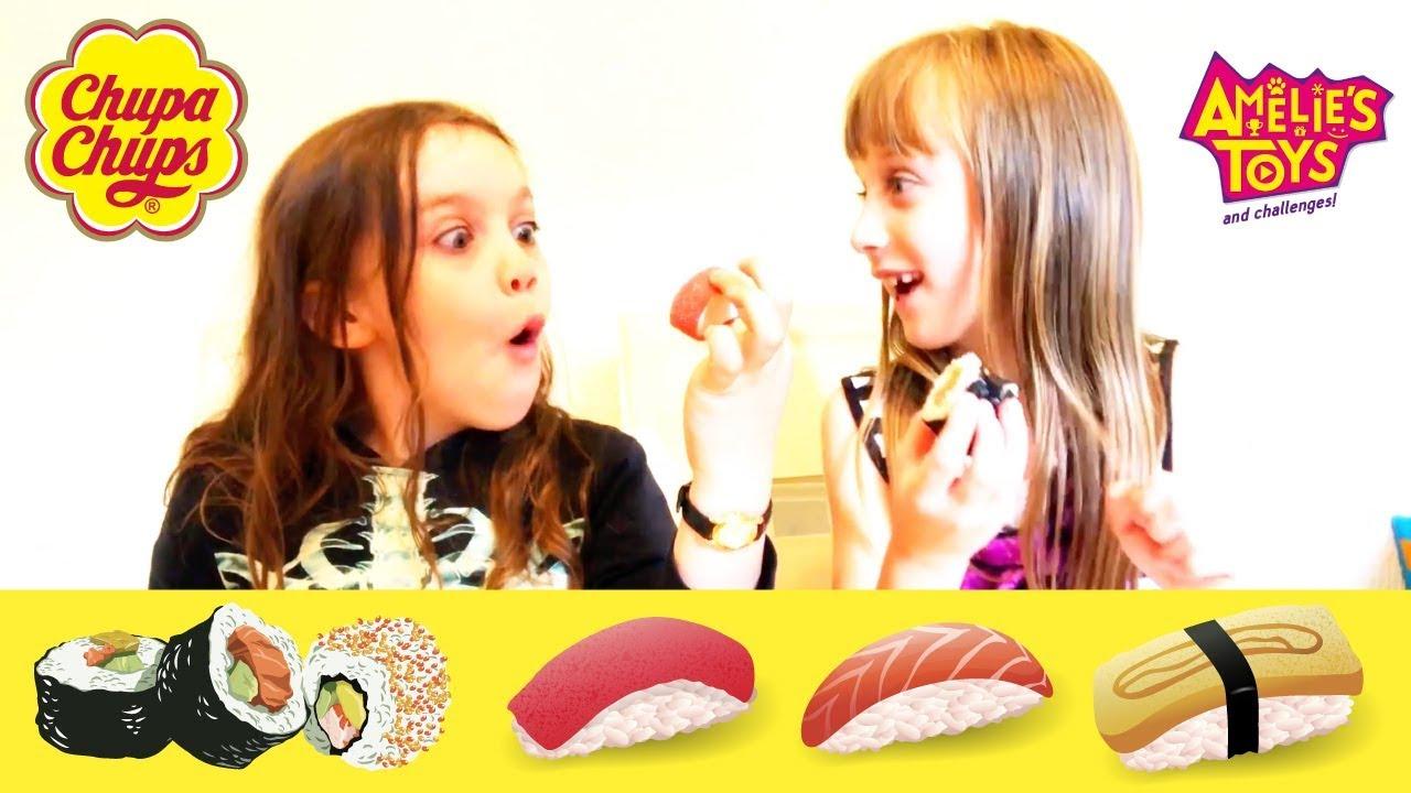 Real Sushi vs Gummy Sushi