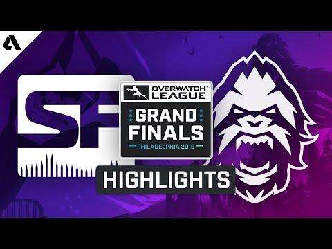 San Francisco Shock vs Vancouver Titans | Overwatch League 2019 Grand Finals Highlights