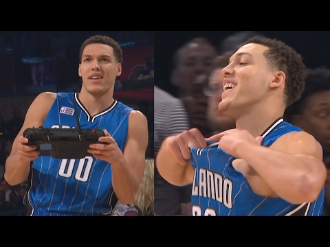 NBA All-Star Slam Dunk Contest 2017! The Drone Dunk Aaron Gordon!
