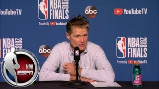 Steve Kerr: LeBron James and Michael Jordan are 'the two best players I've ever witnessed' | ESPN
