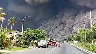 faze tari eruptie vulcan Guatemala