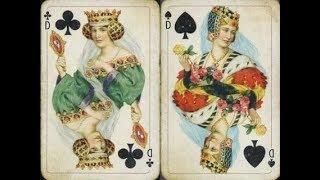 Гадание на игральных картах. ОН+ОНА+ОНА. ЛЮБОВНЫЙ ТРЕУГОЛЬНИК