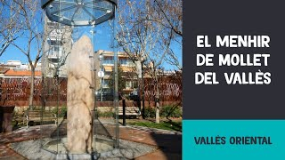 preview picture of video 'El menhir de Mollet del Vallès'